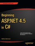 Learn the ASP.NET web forms model, from the ground up. Includes an introduction to the C# programming language.