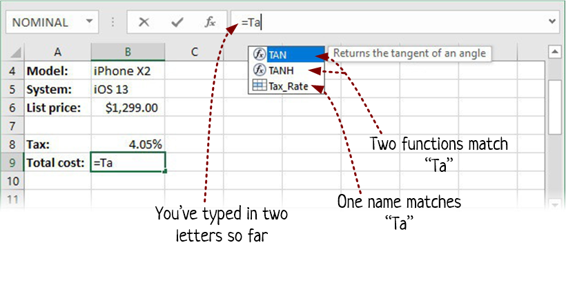 excel formulas is in the pipeline prosetech